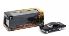 Diecast Auto World - Greenlight 1/43 Scale Hollywood SuperNatural Join The Hunt 1967 Chevy Impala SS Sport Sedan Black Diecast Car Model 86441, $16.99 (http://stores.diecastautoworld.com/products/greenlight-1-43-scale-hollywood-supernatural-join-the-hunt-1967-chevy-impala-ss-sport-sedan-black-diecast-car-model-86441.html/)