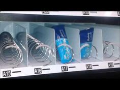 How to Load Product Into a Vending Machine - YouTube Learn how to properly load product into a coil-system vending machine.  This tutorial applies to most combo and snack vending machines.