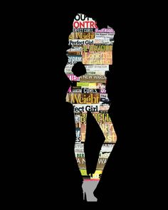 """Contemporary - """"Body Image"""" (Original Art from Sarah Strackhouse)"""