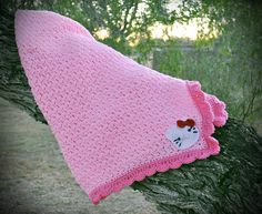 Hello kitty version of free ravelry download blanket