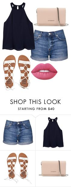 """""""Since you've been around i smile a lot more"""" by mmd32 ❤ liked on Polyvore featuring Topshop, MANGO, Billabong, Givenchy and Lime Crime"""