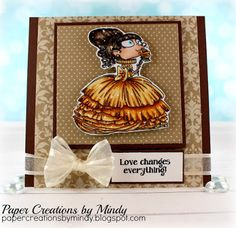 Paper Creations by Mindy: Beauty Kraftin Kimmie Stamps