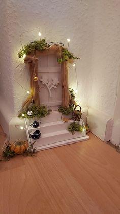 Fairy Crafts, Garden Crafts, Christmas Time, Xmas, Christmas Ornaments, Little Gardens, Fairy Garden Houses, Fairy Doors, Miniature Fairy Gardens