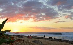 Rocky Point sunset. Gas Chambers firing