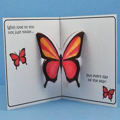 Pop Up Template Printable | Pop-Up Card Templates Printable