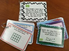 """Multiplication Mastery Madness! Multiplication Task Cards and I love how she fills out a """"celebrity math quiz."""" The students have to grade it and tell why the student got it wrong."""