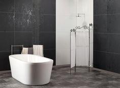 Veggpanel på badet: Enkelt, sikkert og lekkert - Byggmakker+ - Lilly is Love Shower Pan, Ms Gs, Bath Time, New Homes, Cleveland, Bathrooms, Design, Base, Home Decor