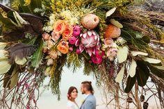 Coastal Luxe Meets Barefoot Bohemian Glamour Wedding Inspiration