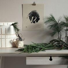 Badger veneer poster by Teemu Järvi Scandinavian Living, Scandinavian Design, Nordic Design, Interior Design Inspiration, Branding Design, Furniture Design, House Design, Illustration, Badger