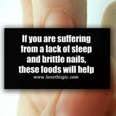 If you are suffering from a lack of sleep and brittle nails, these foods will help health health tips health benefits viral viral right now viral stories trending Health Benefits, Health Tips, Adrenal Glands, Brittle Nails, Blood Pressure, Metabolism, Biology, Medicine, Stress
