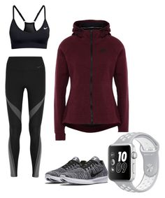 """""""nike"""" by danielizande ❤ liked on Polyvore featuring NIKE"""