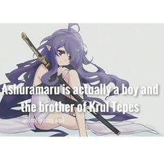 it's a boy.. Wow - Character : Ashūramaru Anime : Owari no Seraph - [#owarinoseraph #seraphoftheend #yuichiro #krultepes #ferid #ashuramaru #mika #yuu #anime #manga #otaku #animefact #animefacts]