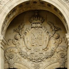 ⌖ Architectural Adornments ⌖  ornate building details -  monogram