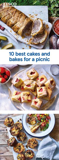 Picnic Foods, Picnic Recipes, Sandwich Ingredients, Tesco Real Food, Sausage Rolls, Healthy Recipes, Bar Recipes, Dessert Bread, Mini Muffins
