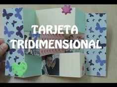 Tarjeta tridimensional aniversario - Sorpresas para tu pareja - YouTube