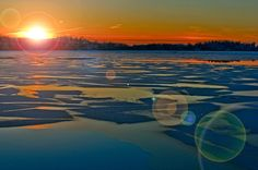 winter sunset by Hector Melo A. on 500px