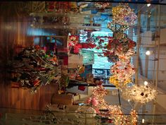 artist-run shop in Bangkok filled with awesome chandeliers made of garbage