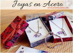 Joyería en Aceero Gus.  Visita: http://www.pruebayopina.com/joyeria-en-acero-gus/