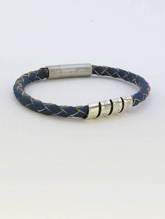 11cbd48c1e3 Engraved bracelet Mens Bracelet Leather BraceletGift for