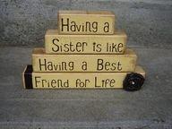 <3  for my sister @Gail Johnson