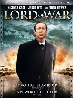Lord of War starring Nicolas Cage, about an arms dealing who is being hunted by an Interpol agent.