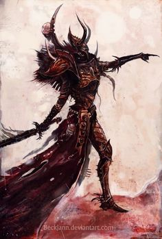 i feel really drawn to this image. i think it sits well with my Chaos/DE theme. but is it too Khornate?