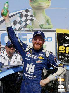 Dale Earnhardt Jr. wins at Talladega