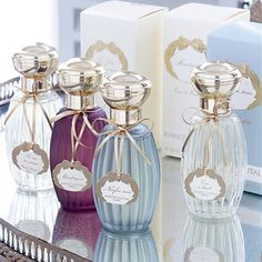 Annick Goutal scents, especially Mandragore... Its very name is reminiscent of ancient times, when men kept secret their knowledge of the power of plants. A mysterious name for a perfume of unusual elegance, presented in a purple bottle to reflect the color of the plant.   A scent both men and women.  Fresh, woody, elegant: Bergamot, mandrake, black pepper and ginger.