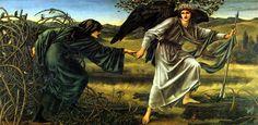 Edward Burne-Jones - Love Leading The Pilgrim