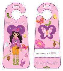 Printable Door Hangers|Lottie Printable Activities For Kids, Free Activities, Free Printables, Toys For Girls, Door Hangers, Family Guy, Butterfly, Doors, Create
