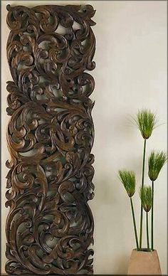 Kan Thai Decor Wall Panels - Wall Panel Carvings                              …
