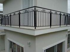 AL Corrimão, Ltda : ALL.BIZ: Brasil Terrace Grill, Balcony Grill Design, Balcony Railing Design, Wrought Iron Stair Railing, Iron Staircase, Deck Railings, Balustrade Inox, Veranda Railing, Deck Flooring