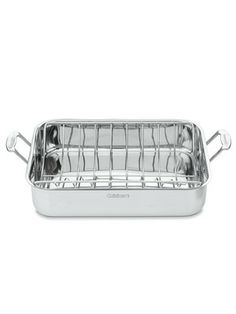 Cuisinart Cookware - Chef's Classic Rectangular Roaster with Rack