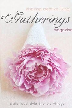 Gatherings magazine summer/2011 #crafts #food #style #interiors #vintage