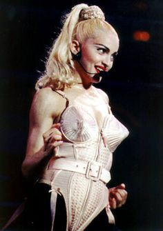 From Madge's cone bra to Bridget's bulge-busting briefs, here's the 7 iconic lingerie moments we'll never forget. Check them out on SB Edit.