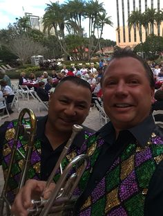 Jammin' Jambalaya Band performing for corporate gig in Orlando. Fully insured 3 to 8 pcs. New Orleans Music, Party Themes, Theme Parties, Second Line, Band Pictures, Brass Band, Jambalaya, Corporate Events