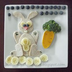 In honor of Leap Day, Easter, or just Springtime! A bunny lunch :)