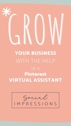 Do you need help growing your business? Social Impressions can help with your business page through social media! Don't have time for that? That is where we come in. We want to make your life easier by doing this FOR you! Check us out on Facebook and Instagram.