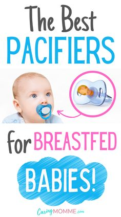 Are you looking for the best pacifier for your breastfed baby? Although this soothing tool comes in handy for breastfed babies, it's challenging to pick out a suitable one from the many options available. Check out our list and figure out what your baby really needs! Kids And Parenting, Parenting Hacks, Best Pacifiers, Baby Calm, Breastmilk Storage, Baby On A Budget, Nursing Mother, Postpartum Care, Breastfeeding And Pumping