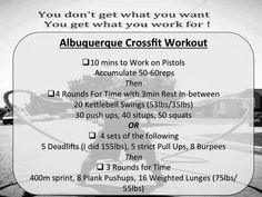 My workout yesterday and today! :) Let's take this journey together and get stronger!