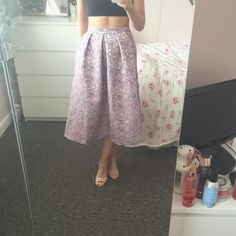 When you buy a gorgeous skirt for a wedding and then go on the asos website to buy the matching top and find its not there any more  Any suggestions of what to wear with it would be fab  or links to any #fbloggers who have styled these sort of skirts?  #skirt #asos #help #fbloggers #bbloggers #wedding (Ps ignore the black top I'm still in my dance kit lol)