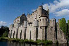 middeleeuws kasteel in Gent.