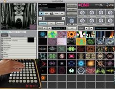 Livid CellDNA and Max for Live: add a VJ to your set - VJs Magazine Web Magazine, Art Forms, Photo Wall, Product Launch, Ads, Graphic Design, Live, Frame, Creative