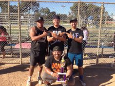 Eve, Omar, Carlos, and Adrian #sdsubetas #SLB/SLG #softballChamps