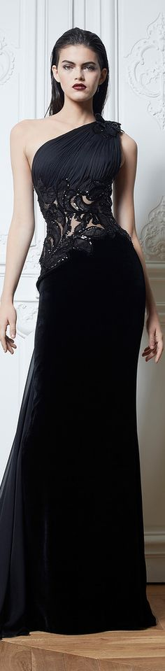 "I like the way this dress wraps up to the shoulder, snugly clasps the waste and billows out in a third ""black"" colour Really beautiful to put on.....Cinderellas ex best-friend?!....xo"