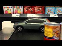 Honda en cinta supermercado
