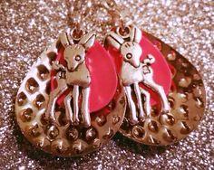 Dear Deer Fishing Lure Earrings, fishing lure jewelry on Etsy, $10.00
