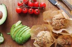 Lemon & Dill Muffins (GF, Vegan)  The Intolerant Gourmet