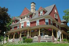 Old Rittenhouse Inn is Bayfield, Wisconsin's first Country Inn Bed & Breakfast and gourmet restaurant offering 20 guest rooms in 2 Victorian homes and a private cottage with fireplaces, whirlpool tubs and spectacular Lake Superior views. The Inn's Landmark restaurant offers breakfast, brunch, and dinner showcasing regional and seasonal cuisine. The Inn is located just blocks from Lake Superior and home of the Apostle Islands.