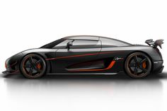 Koenigsegg Agera RS has only 1.160 pk/hp